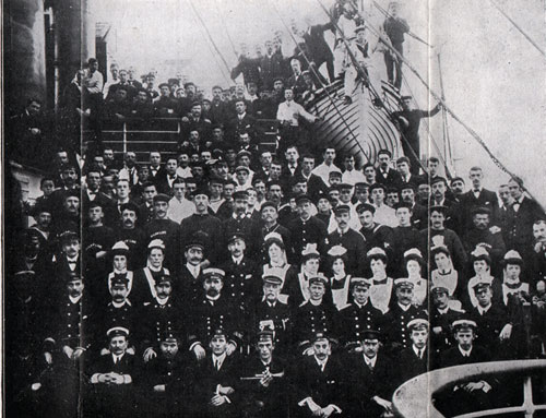 Corsican  - officers and crew of The Corsican